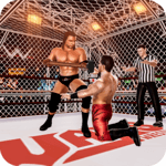 Cage Revolution Wrestling World : Wrestling Game icon