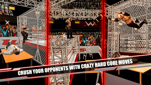 Cage Revolution Wrestling World : Wrestling Game APK screenshot 1