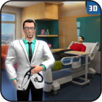 Virtual Hospital Family Doctor: Hospital Games icon