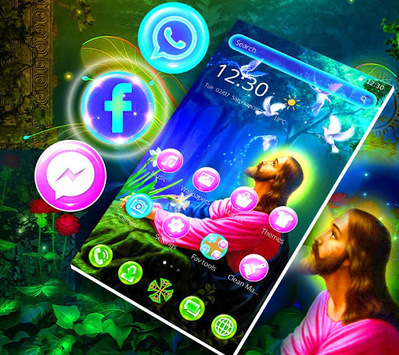 Holy Faith Forest Theme APK screenshot 1