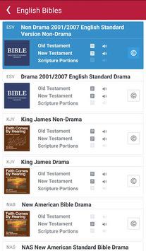 Bible: Dramatized Audio Bibles APK screenshot 1