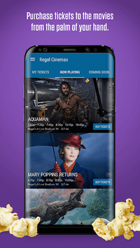 Regal Cinemas APK screenshot 1
