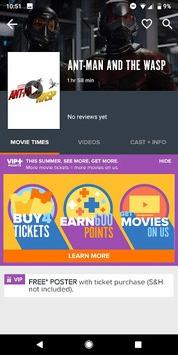 Fandango Movies - Times + Tickets APK screenshot 1