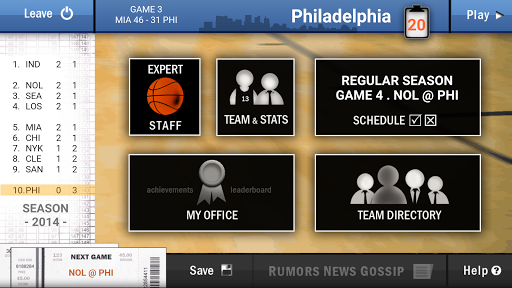 New Basketball Coach 2 APK screenshot 1