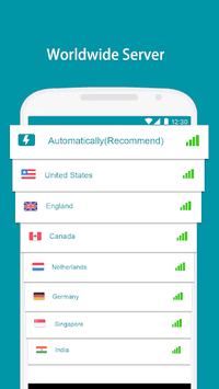 Thunder VPN - A Fast , Unlimited, Free VPN Proxy APK screenshot 1