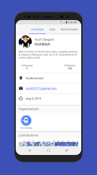 FastHub for GitHub APK screenshot 1