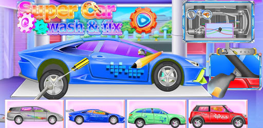 Super Car Wash And Fix pc screenshot