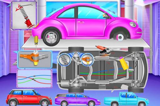 Super Car Wash And Fix APK screenshot 1