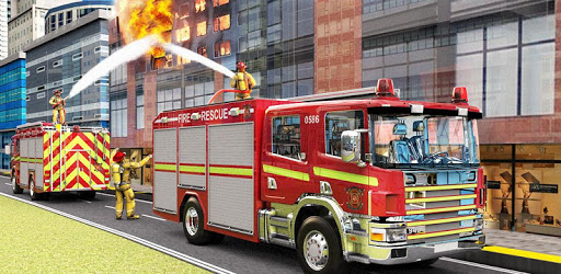 City Firefighter Truck Driving Rescue Simulator 3D pc screenshot