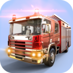City Firefighter Truck Driving Rescue Simulator 3D icon