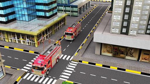 City Firefighter Truck Driving Rescue Simulator 3D APK screenshot 1