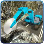 Heavy Excavator Rock Mining 3D icon