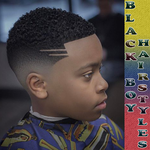 Black Boy Hairstyles icon