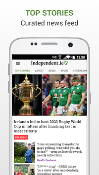 Irish Independent News APK screenshot 1