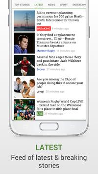 Irish Independent News APK screenshot 1