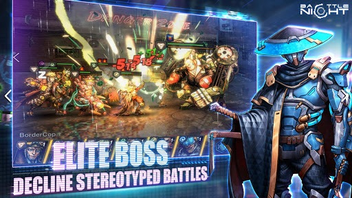 Battle Night: Cyberpunk-Idle RPG APK screenshot 1