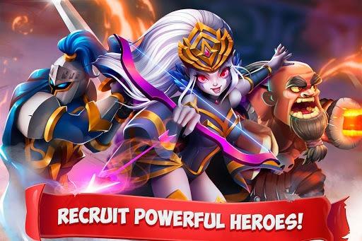Epic Summoners: Battle Hero Warriors - Action RPG APK screenshot 1