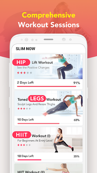 Slim NOW - Weight Loss Workouts APK screenshot 1