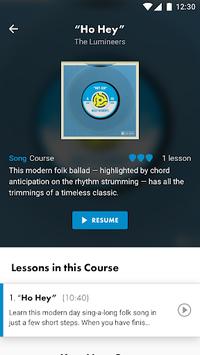 Guitar Lessons, Bass & Ukulele | Fender Play APK screenshot 1