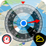 All GPS Tools Pro (Compass, Weather, Map Location) icon