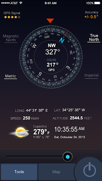 All GPS Tools Pro (Compass, Weather, Map Location) APK screenshot 1