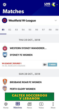 My Football Live App APK screenshot 1