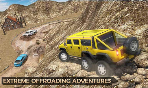 Extreme Offroad Mud Truck Simulator 6x6 Spin Tires APK screenshot 1