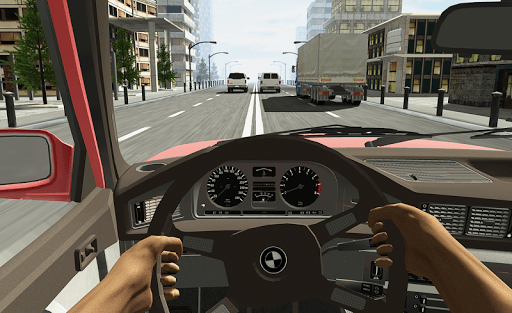 Racing in Car APK screenshot 1
