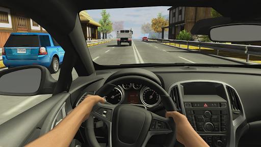 Racing in Car 2 APK screenshot 1