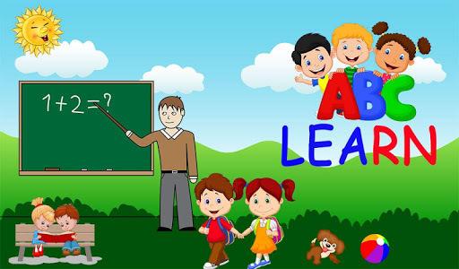 Preschool Kids Learning : ABC, Number, Colors APK screenshot 1