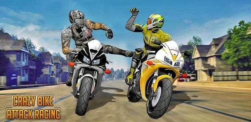 Crazy Bike attack Racing New: motorcycle racing pc screenshot
