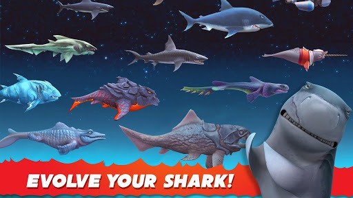 Hungry Shark Evolution APK screenshot 1