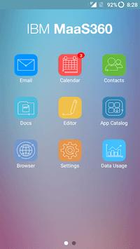 MaaS360 MDM for Android APK screenshot 1