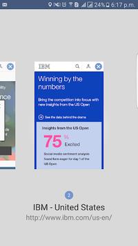 MaaS360 Browser APK screenshot 1