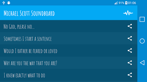 Michael Scott Soundboard APK screenshot 1
