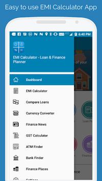 EMI Calculator - Loan & Finance Planner APK screenshot 1