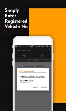 RTO Owner Info APK screenshot 1