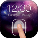 Fingerprint LockScreen Simulated Prank icon