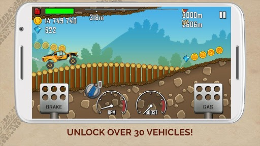 Hill Climb Racing APK screenshot 1