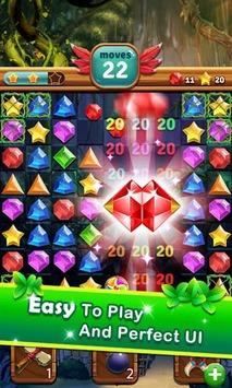 Jewels Jungle Treasure : Match 3  Puzzle APK screenshot 1