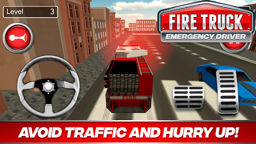 Fire Truck Driver Emergency 2018 APK screenshot 1