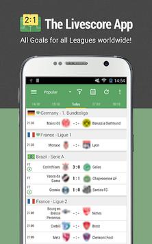 All Goals - Football Live Scores APK screenshot 1