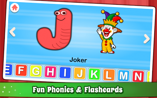 Alphabet for Kids ABC Learning - English APK screenshot 1