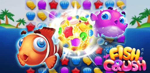 Fish Crush - charming ocean pc screenshot