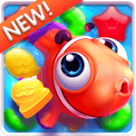 Fish Crush - charming ocean icon