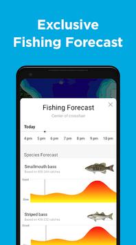 Fishbrain - local fishing map and forecast app APK screenshot 1