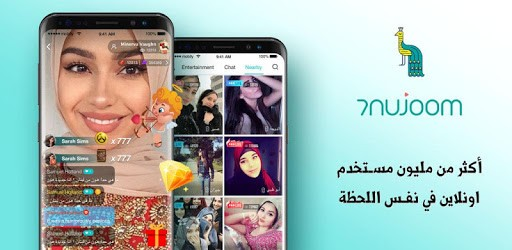 Free 7Nujoom– Live Stream Video Chat & Random Chat Room ...