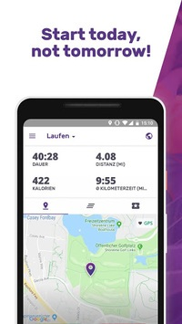 Running for Weight Loss Walking Jogging my FITAPP APK screenshot 1