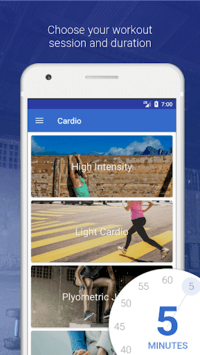 HIIT & Cardio Workout by Fitify APK screenshot 1
