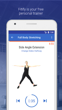 Stretching & Flexibility Routines by Fitify APK screenshot 1
